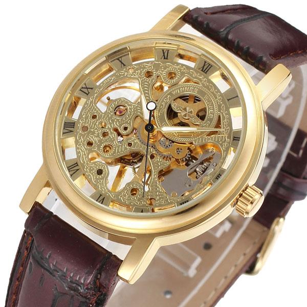 Чоловічі годинники Winner Gold - зображення 1