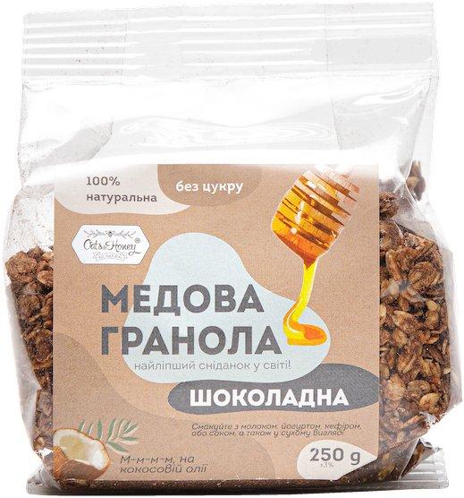Гранола Oats&Honey шоколадная пленка 250 г (4820013333942) - изображение 1