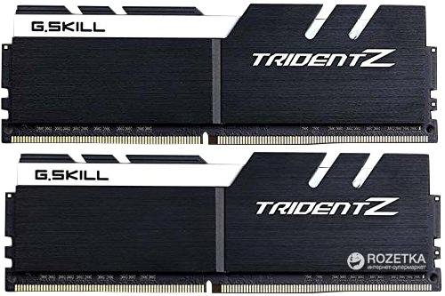 Оперативна пам'ять G.Skill DDR4-3200 16384MB PC4-25600 (Kit of 2x8192) Trident Z White (F4-3200C16D-16GTZKW) - зображення 1