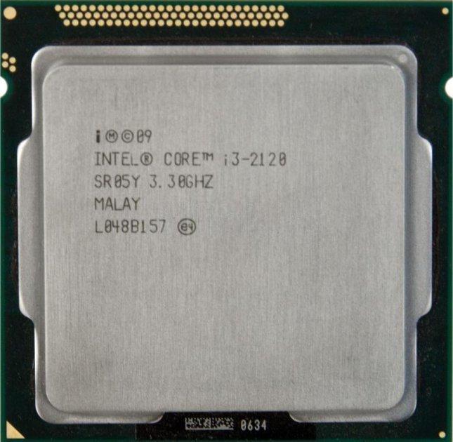 Б/У, Процесор, Intel Core i3-2120 3 МБ, 2x3,30 GHz, 5GTs, 3MB, s1155 - зображення 1