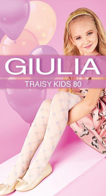 Колготки Giulia Traisy Kids (3) 80 Den 104-110 см Panna (4823102967370) - зображення 1