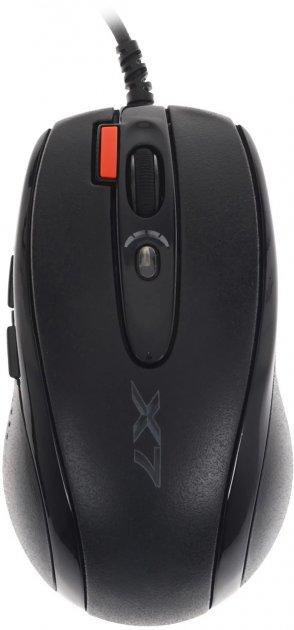 Комплект A4Tech X-7120: Миша X-710BK + ігрова поверхня X7-200MP (4711421932172) - зображення 1