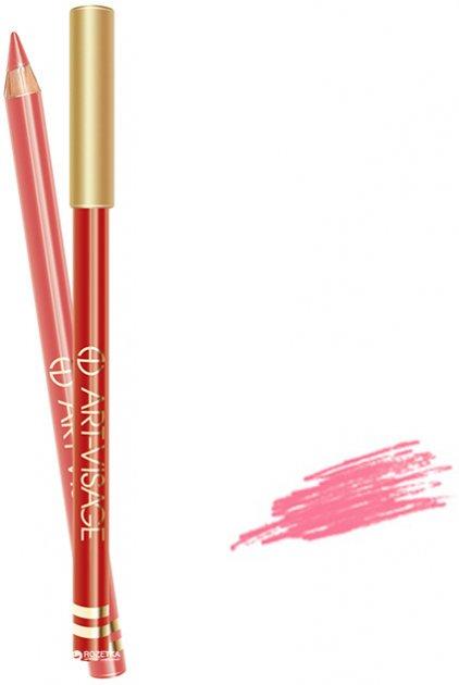 Карандаш для губ Art-Visage 201 розовый с перламутром 1.3 г (4607057641741) - изображение 1