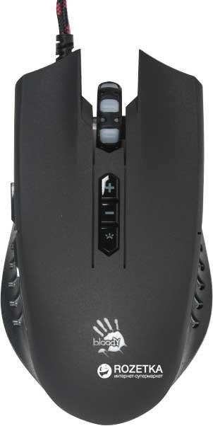 Миша Bloody Q81 USB Black (4711421931267) - зображення 1