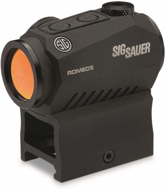 Коліматорний приціл Sig Sauer Optics Romeo5 Compact 2 Moa Red Sight (SOR52001) - зображення 1