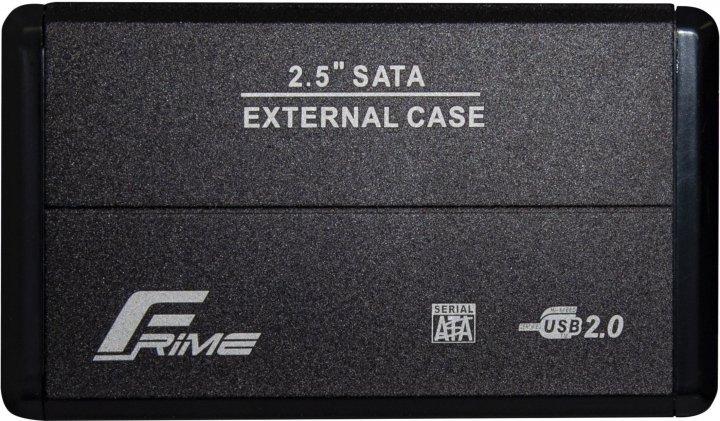 "Внешний карман Frime для HDD/SSD 2.5"" SATA USB 2.0 Black (FHE20.25U20) - изображение 1"