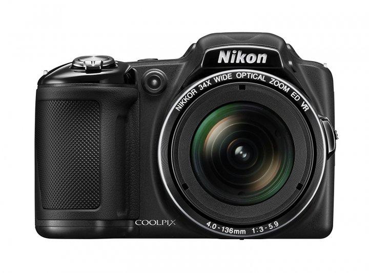 Nikon Coolpix L830 Black (VNA600E1) - зображення 1
