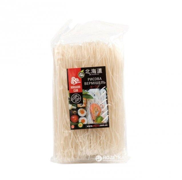 Вермишель рисовая Hokkaido Club 300 г (4823025900362) - изображение 1