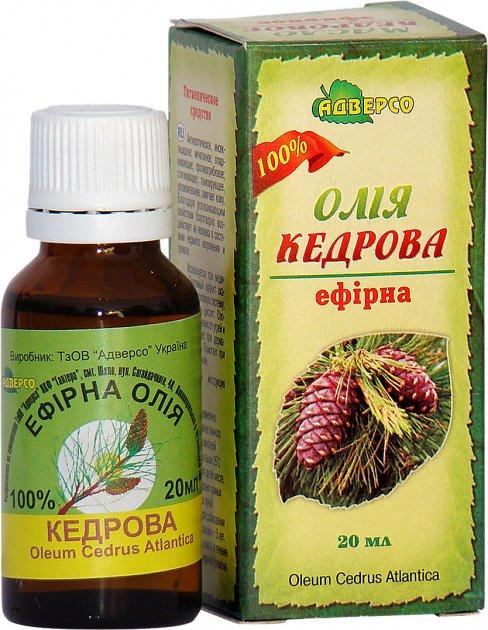 Олія ефірна Адверсо Кедрова 20 мл (4820104010783) - зображення 1