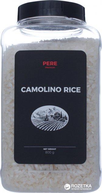 Рис Pere Камолино шлифованный 800 г (4820191590489) - изображение 1