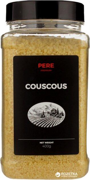 Крупа Pere Кускус пшеничный 400 г (4820191591325) - изображение 1