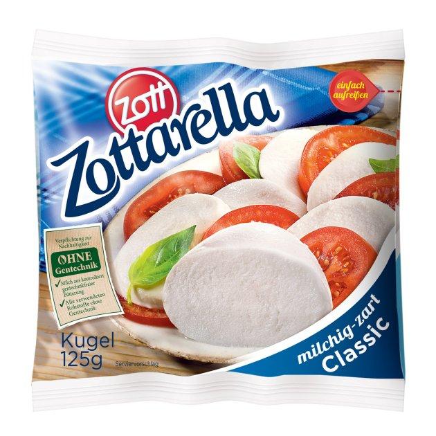 Сыр Zott Моцарелла Цоттарелла 125 г - изображение 1