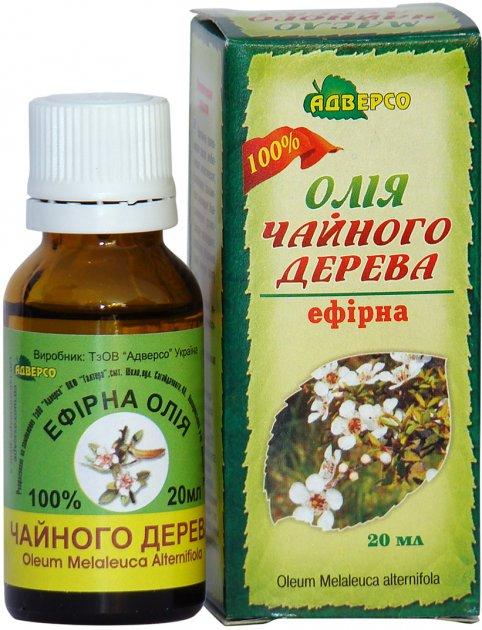 Олія ефірна Адверсо Чайного дерева 20 мл (4820104010714) - зображення 1
