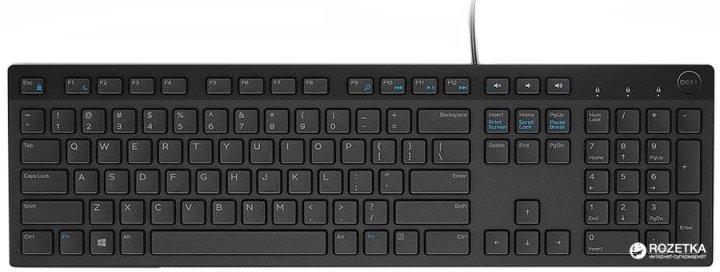 Клавиатура проводная Dell Multimedia KB-216 USB (580-ADGR) - изображение 1