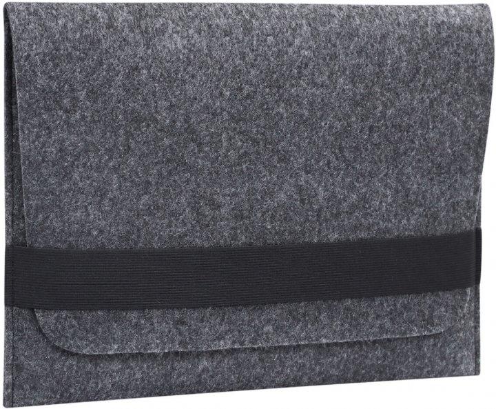 """Чохол для ноутбука Gmakin для Macbook Pro 15"""" Black (GM14-15) - зображення 1"""