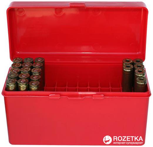 Кейс МТМ R-60 для патронов 308win, 30-06 на 60 патр. Красный (17730472) - изображение 1