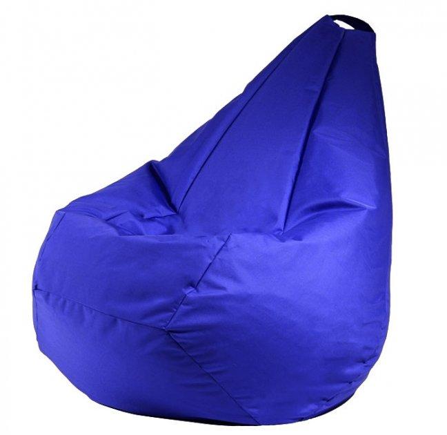 Крісло мішок груша 120х85см Синій - зображення 1