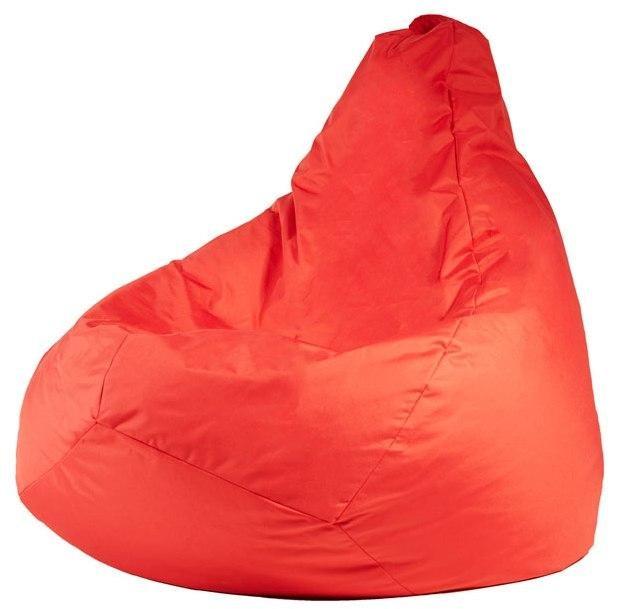 Крісло мішок груша 150х100 см Червоний - зображення 1