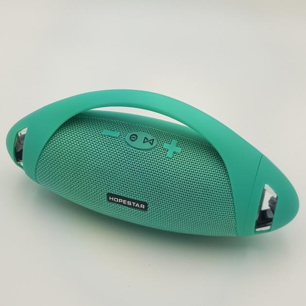 Портативная Bluetooth колонка Hopestar Boombox Original 24 см Бирюзовая (H37) - изображение 1