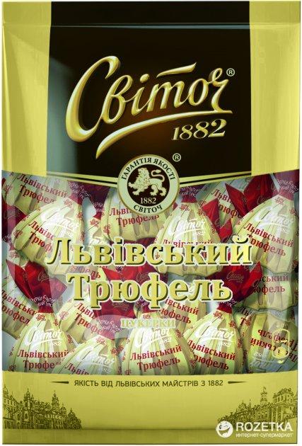 Конфеты Світоч Львовский трюфель 196 г (4823000920811) - изображение 1