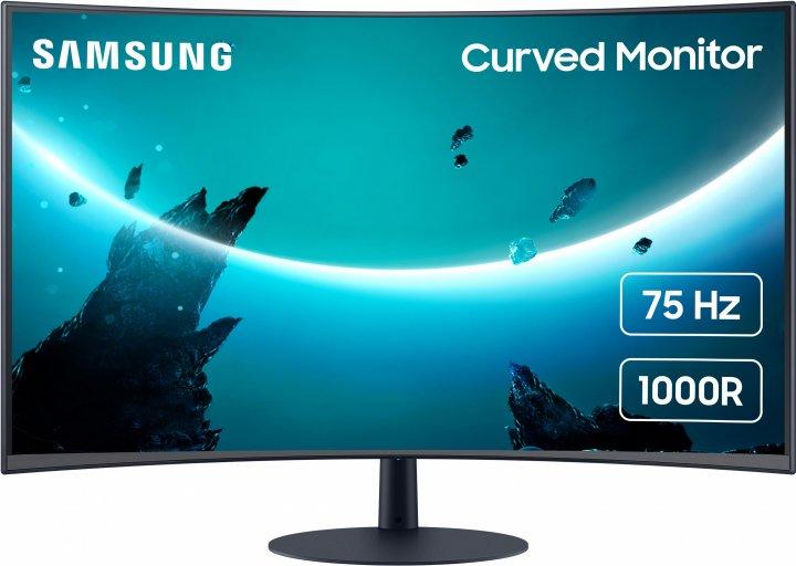 """Монітор 27"""" Samsung Curved C27T55 (LC27T550FDIXCI) - зображення 1"""