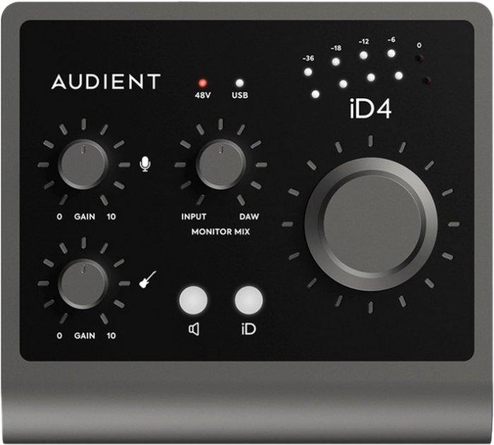 Аудіоінтерфейс Audient iD4 MKII (231102) - зображення 1
