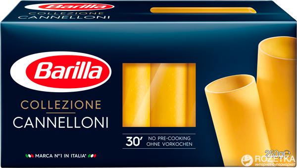 Макароны Barilla Collezione Cannelloni Каннеллони 250 г (8076808070882) - изображение 1