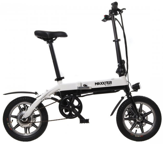 Електровелосипед Maxxter Mini Black-White - зображення 1