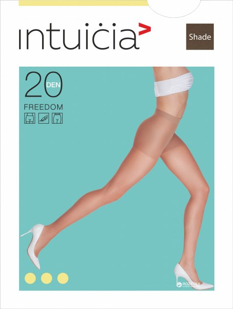 Колготки Intuicia Freedom 20 Den 2 р Shade (4823072913001) - изображение 1