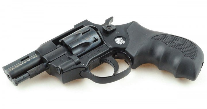 """Револьвер Weihrauch HW4 2.5"""""""" с пластиковой рукоятью - изображение 1"""