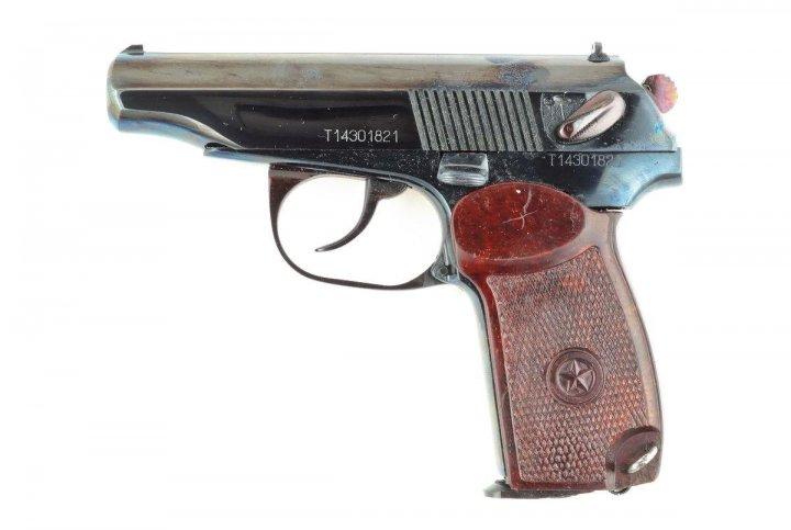 Пневматичний пістолет МР 654 глибока полірування - зображення 1