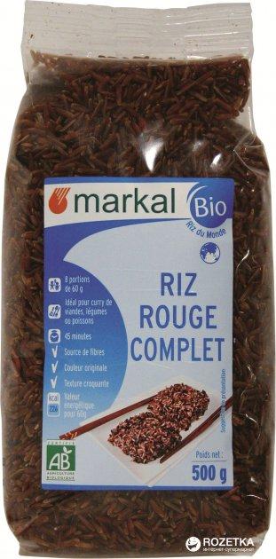 Рис Markal красный органический 500 г (3329485191209) - изображение 1