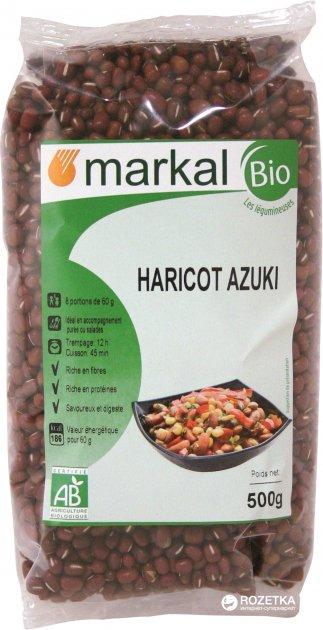 Боби Markal Адзукі органічні 500 г (3329484711200) - зображення 1