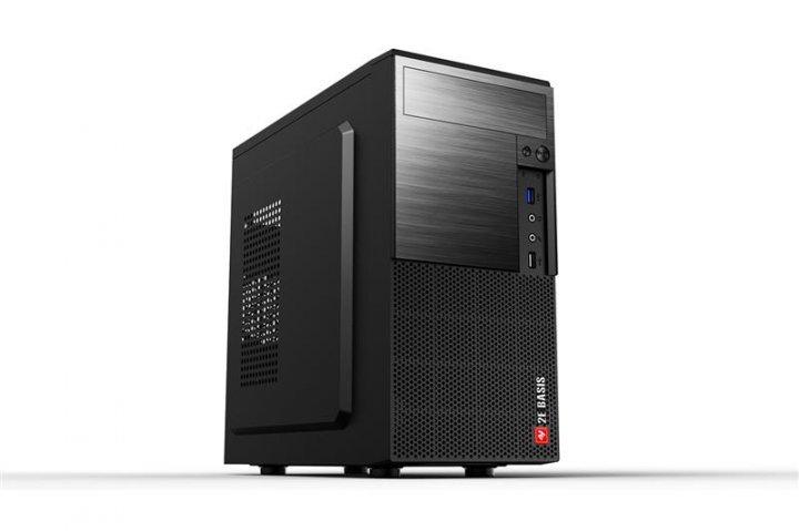 Корпус 2E Basis (RD860) Black (2E-RD860) без БЖ - зображення 1