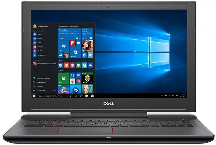 Ноутбук Dell Inspiron G5 15 5587 (55G5i916S2H1G16-WBK) Black - зображення 1