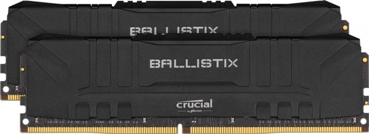 Оперативна пам'ять Crucial DDR4-3200 32768MB PC4-25600 (Kit of 2x16384) Ballistix Black (BL2K16G32C16U4B) - зображення 1