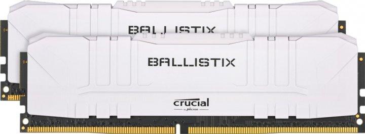 Оперативна пам'ять Crucial DDR4-3000 16384MB PC4-24000 (Kit of 2x8192) Ballistix White (BL2K8G30C15U4W) - зображення 1