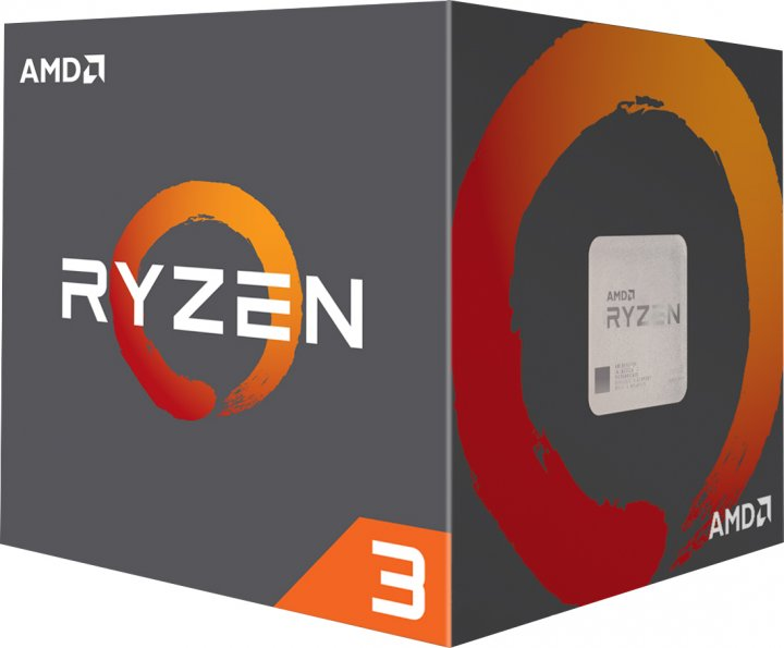 Процессор AMD Ryzen 3 1200 3.2GHz/8MB (YD1200BBAFBOX) sAM4 BOX - изображение 1