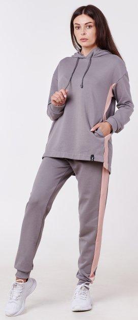 Спортивний костюм Feel and Fly Hazel Gray 252003 S Сірий (4822520112045) - зображення 1