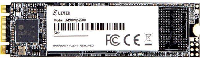 Leven JM600 128GB M.2 2280 SATAIII 3D NAND TLC (JM600M2-2280128GB) - зображення 1
