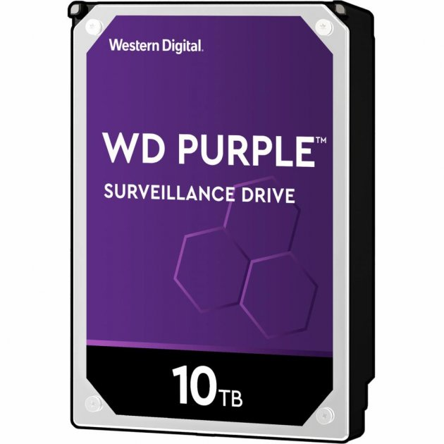 "Жорстку диск 3.5"" 10TB Western Digital (WD102PURZ) - зображення 1"