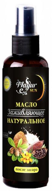 Масло натуральное Mayur заживляющее от солнечных ожогов 120 мл (4820189560753) - изображение 1