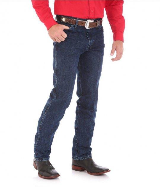 Джинси чоловічі Wrangler 13MWZ Cowboy Cut Original Fit Dark Stone W32 L32 Темно-Синій (771733232) - зображення 1