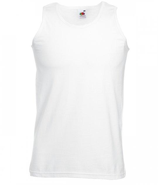 Майка Fruit of the Loom Athletic vest XL 30 Білий (061098030XL) - зображення 1