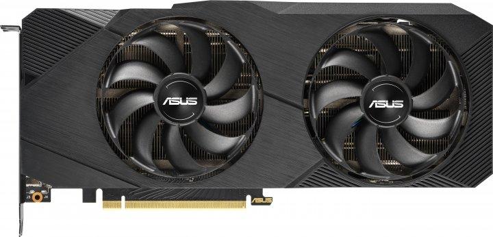 Asus PCI-Ex GeForce RTX 2070 Super Dual EVO OC 8GB GDDR6 (256bit) (1605/14000) (1 x HDMI, 3 x DisplayPort) (DUAL-RTX2070S-O8G-EVO) - зображення 1
