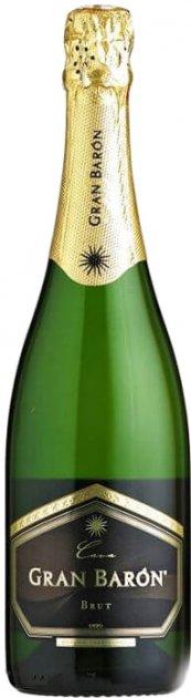 Игристое вино Gran Baron Cava Brut белое 11.5% 0.75 (8413216001136) - изображение 1