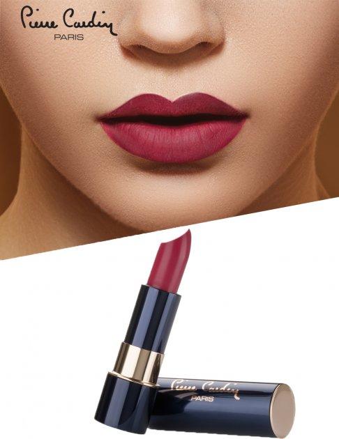 Матовая губная помада Pierre Cardin Matte Rouge Огненный Красный 9 мл (8680570461559) - изображение 1