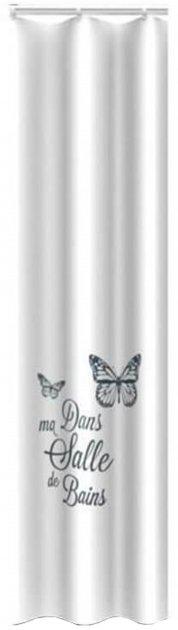Шторка Trento Butterfly біла (46420) - зображення 1