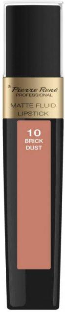 Помада Pierre Rene жидкая Matte Fluid 10 Brick Dust 6 мл (3700467841846) - изображение 1