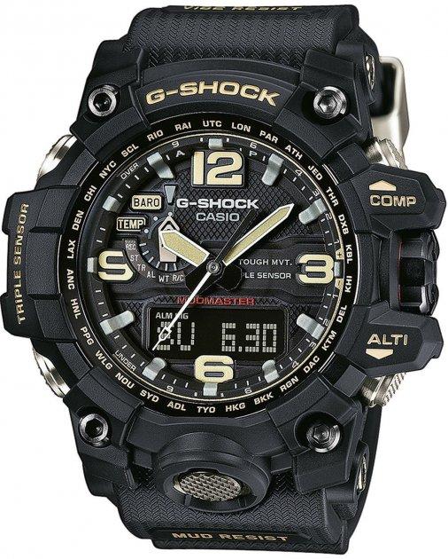 Чоловічі годинники CASIO GWG-1000-1AER - зображення 1